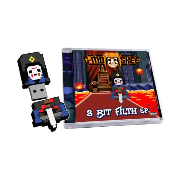 G-Mo Skee – 8 Bit Filth CD/USB combo