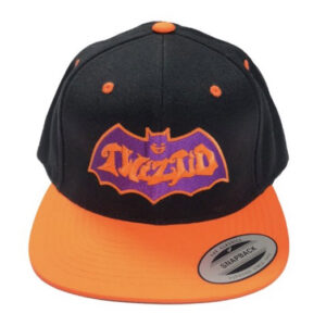 TWIZTID ORANGE AND PURPLE BATMAN SNAPBACK