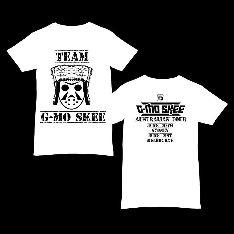 G-Mo Skee Australian Tour Shirt - Large