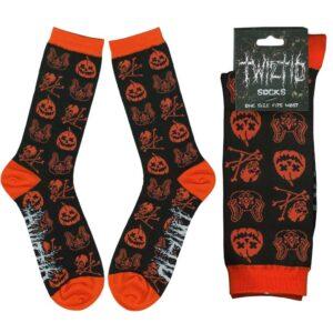 Twiztid Halloween Pattern Socks