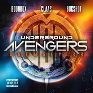 "Underground Avengers ""Anomaly 88"" CD"