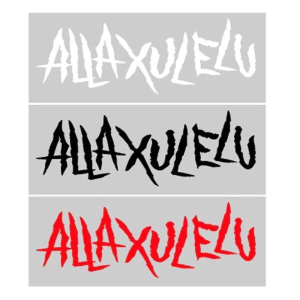 Alla Xul Elu Logo 8 Inch Vinyl Decal