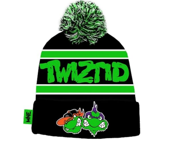 Twiztid TMNT Puff Ball Knit Hat