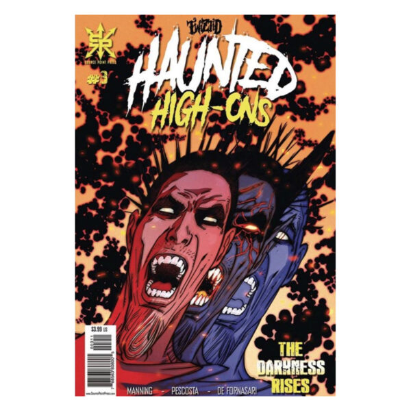 "Twiztid – Haunted High-Ons ""The Darkness Rises"" Issue 3"