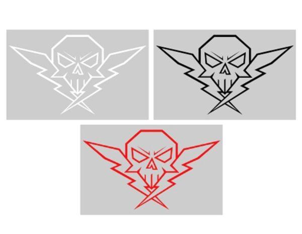 Twiztid Generation Nightmare Winged Skull Logo Vinyl Decal