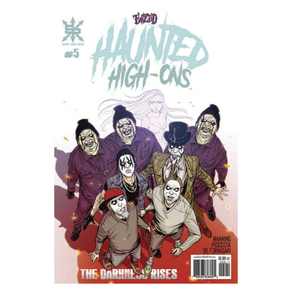 """Twiztid """"Haunted High Ons"""" – Issue 5"""
