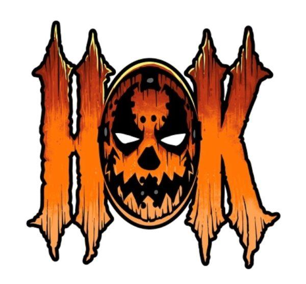 HOK Mask Die Cut Sticker