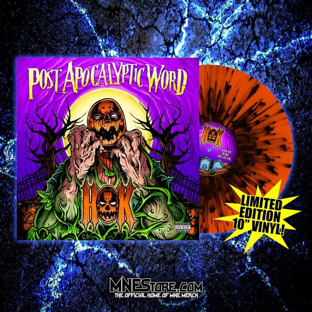 """HOK """"Post Apocalyptic"""" Word 10 Inch Vinyl"""