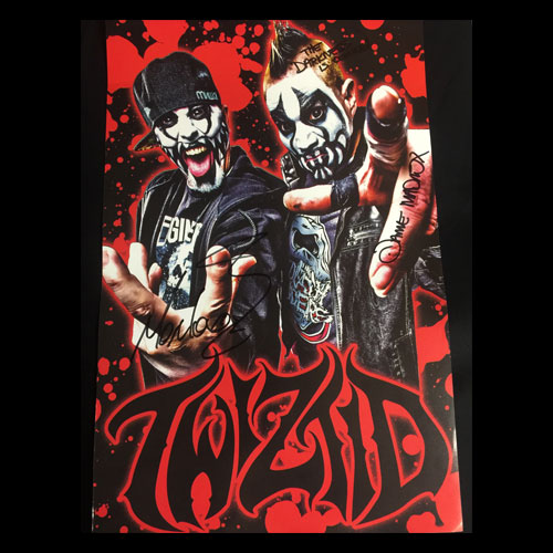 Autographed Twiztid Poster - 28cm x 43cm