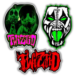 Twiztid Sticker Pack - 3 Stickers