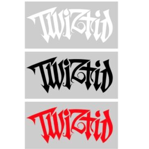 Twiztid Generation Nightmare Logo Vinyl Decal