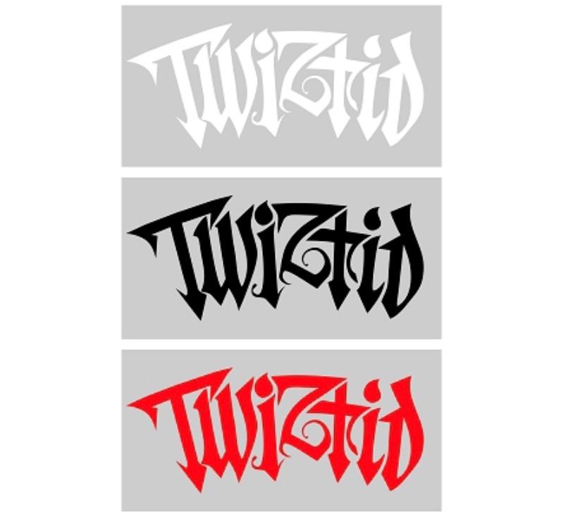 Twiztid Generation Nightmare Logo Vinyl Decal